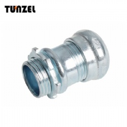 steel emt compression connector